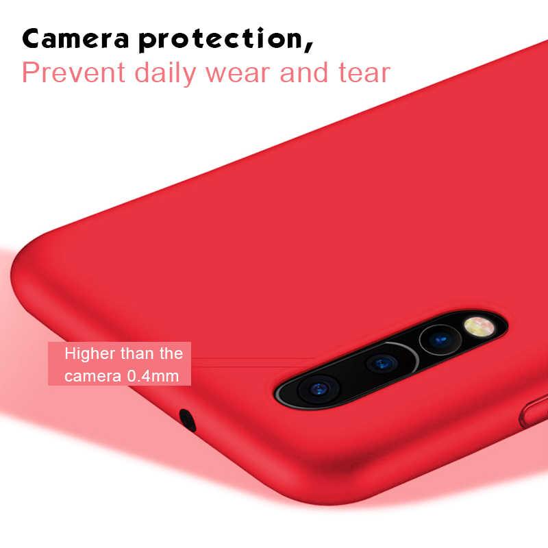 Матовый цветной Мягкий силиконовый чехол из ТПУ для huawei P Smart 2019 P20 lite P30 Pro для Honor 8X 8C 8 X ультра тонкий чехол