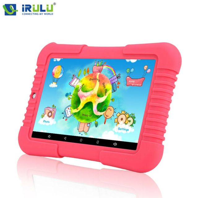 Original iRULU Y3 7″ Babypad 1280*800 IPS Quad Core Tablet Android 5.1 1G RAM+16G ROM with Silicone Case Tablet PC for children