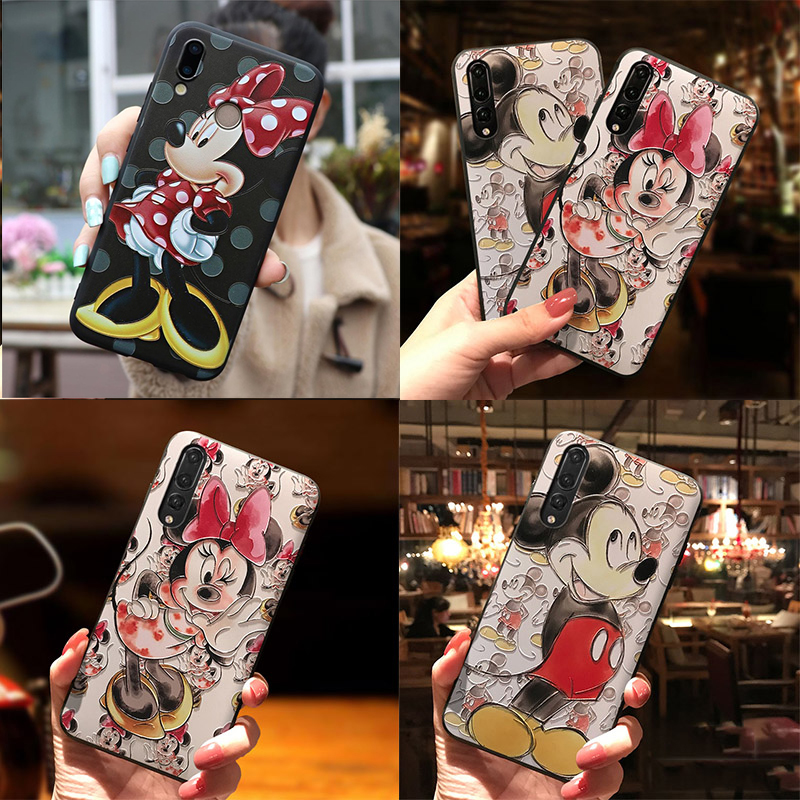 3D Emboss Coque TPU Case For Huawei Honor 8X 7A Pro P smart 2019 Nova 2i 3E 3 3i P30 P20 P8 P9 P10 Mate 10 20 Pro Lite Mini Case image