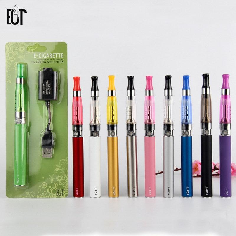 10 pcs/lot en gros EGO T Ce5 Blister atomiseur Vape E liquide Cigarette électronique Kit e-cigarettes narguilé 1.6 ml usb chargeur