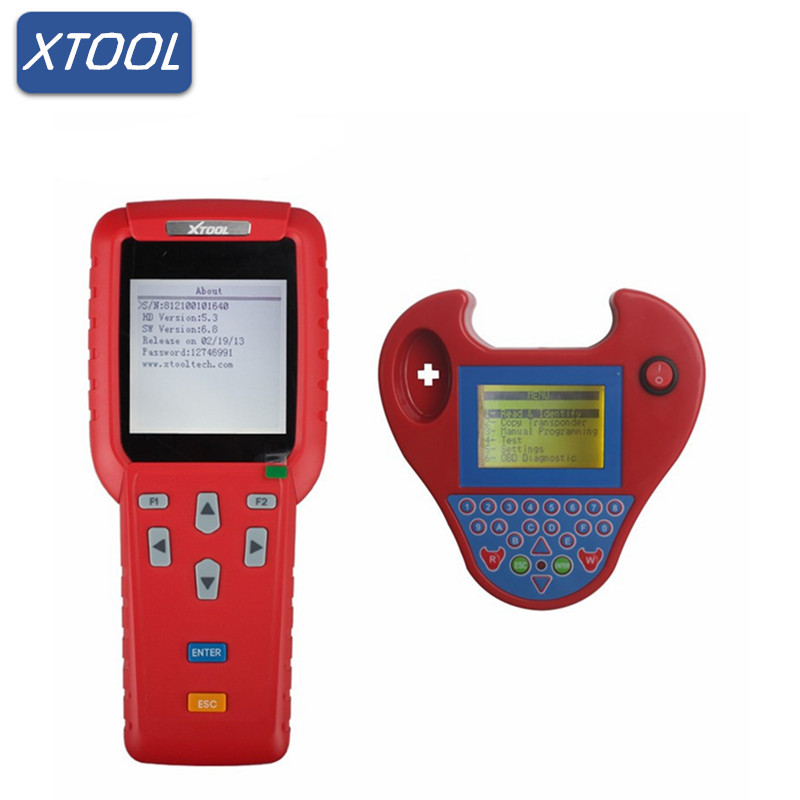 Origional Xtool X100 PRO Auto Key Programmer X100+ Updated Version Plus Smart Zed Bull With Mini Type No Tokens Needed