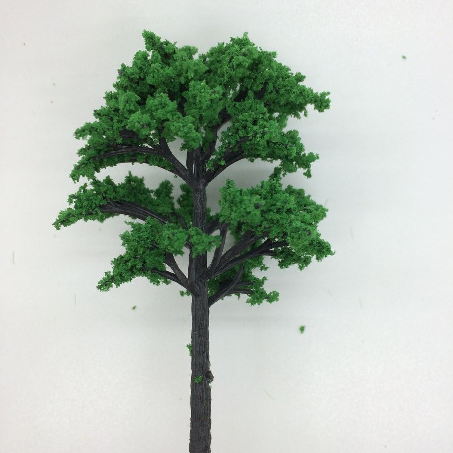 Toys & Hobbies 20pcs 9cm Pink And Green Street Tree Model Sand Table Model Of The Wire Tree Ideal Gift For All Occasions