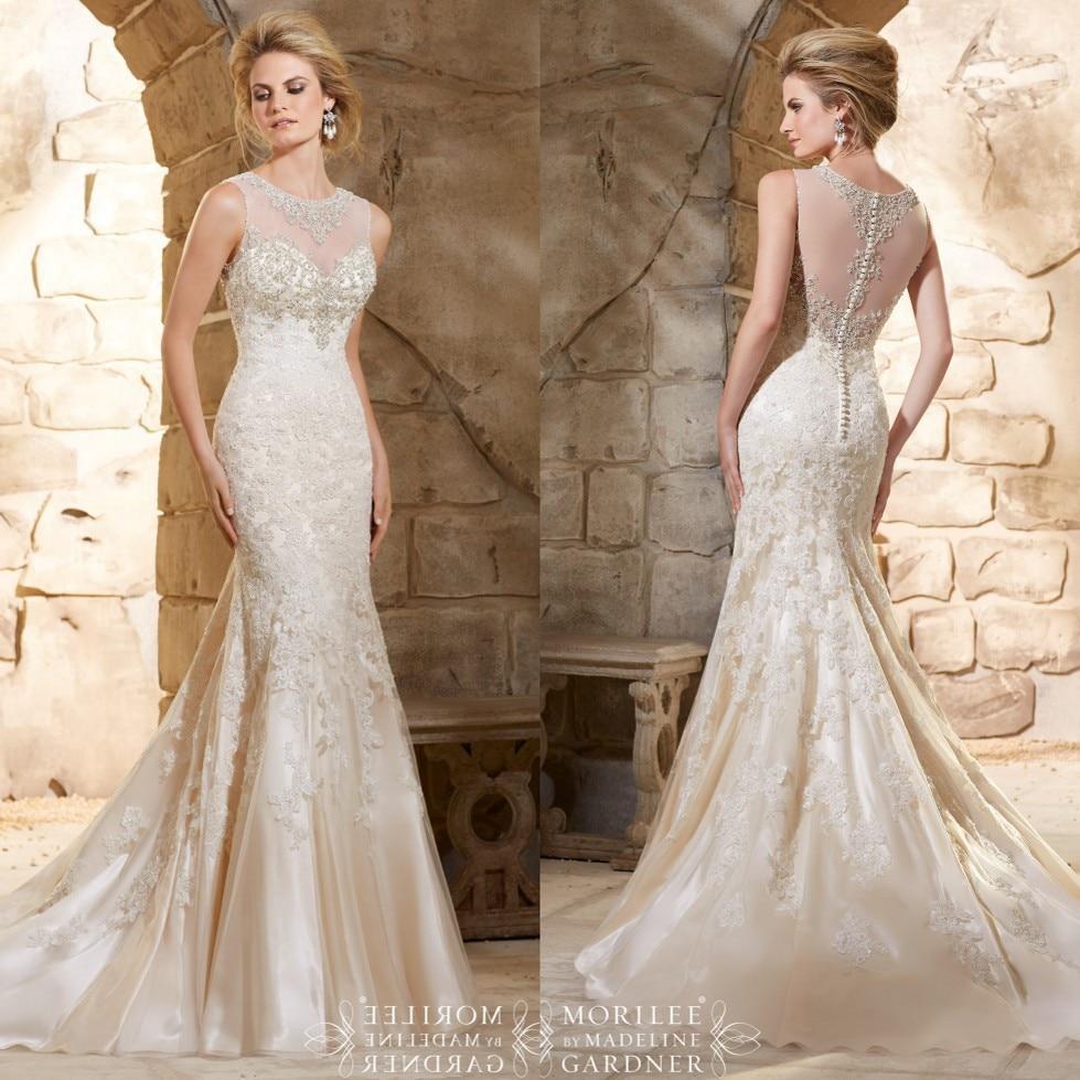 Heavy beaded custom made sexy lace wedding dress see for Heavy beaded wedding dresses