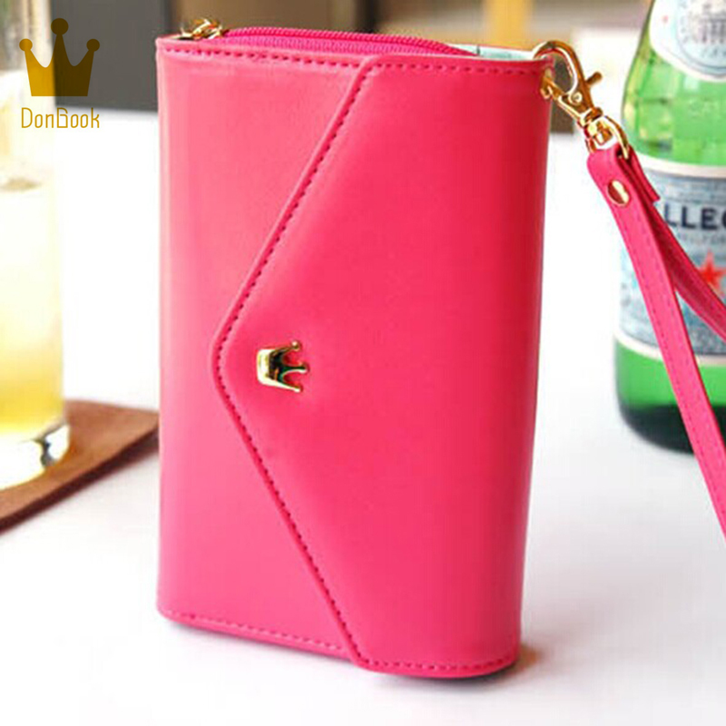 Women wallets wallet purse carteira carteras portefeuille femme pu leather billeteras para mujer monederos purses famous brand anne klein 2246 crhy
