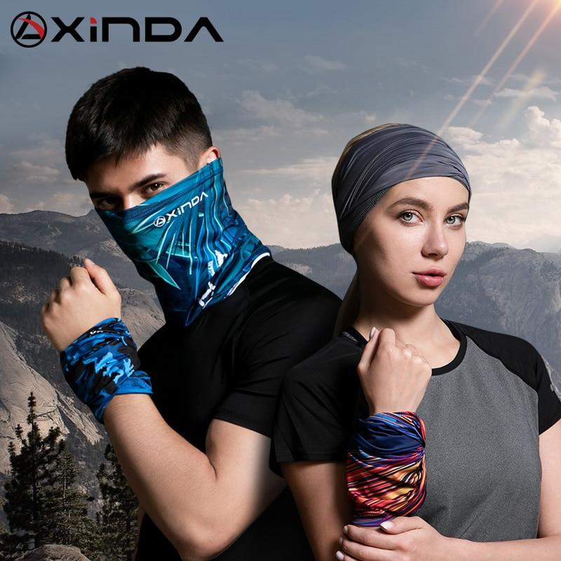 2019 Camouflage Printing Cycling Multifunctional Bandana Headband Magic Face Scarf Seamless Scarf Unisex Scarves Face Shield
