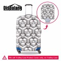 Dispalang fashion trolley luggage cover travel trunk dirt-proof protective cover  for 18-30 inch suitcase travel accessories