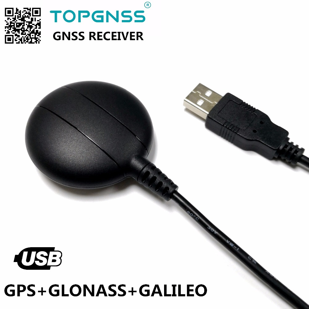 Industrial application USB GPS GLONASS GALILEO Receiver module antenna GNSS200L USB GNSS GPS GLONASS GALILEO receiver galileo