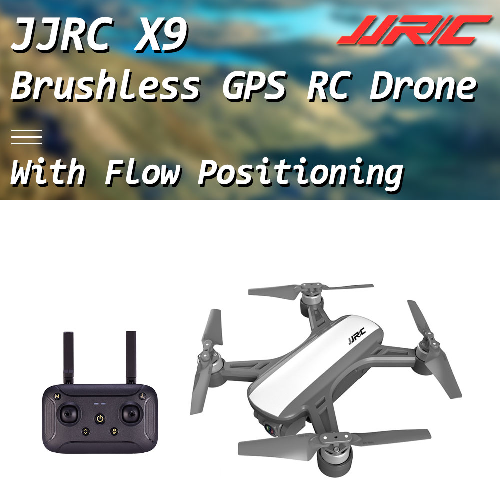 JJRC X9 Garça WiFi FPV com HD 1080P GPS câmera Brushless Cardan Posicionamento De Fluxo Óptico Altitude Hold RC Quadcopter zangão