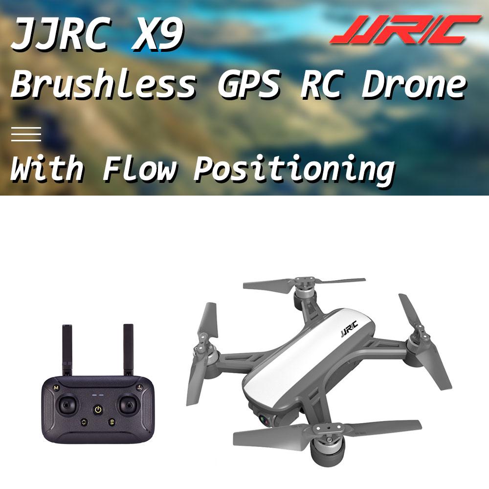 JJRC X9 هيرون WiFi FPV مع HD 1080P كاميرا GPS فرش Gimbal البصرية تدفق المواقع الارتفاع الانتظار أجهزة الاستقبال عن بعد Drone-في طائرات هليوكوبترتعمل بالتحكم عن بعد من الألعاب والهوايات على  مجموعة 1