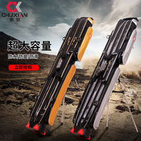 1.25m Fishing Bags Portable Fishing Rod Carrier Canvas Fishing Pole Tools Storage Bag Case Fishing Gear Tackle2/3 Layer