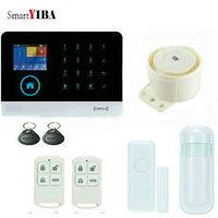 SmartYIBA RFID APP Control SMS Arm Disarm Wireless GSM Alarm System WIFI Alarmes Wired Siren Alert