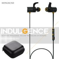Dual Battery Headset Magnetic Headphones Bluetooth Headsets With Microphone Wireless Sport Earphones Hongsund HB806 P