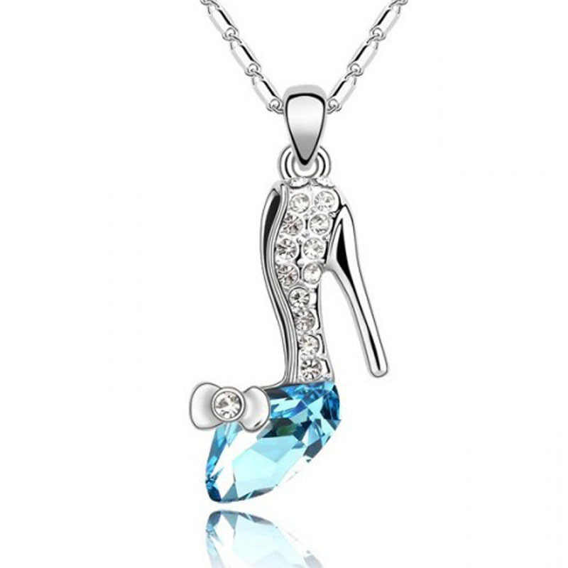 Crystal jewelry wholesale Austrian crystal necklace Slipper dream pendant - slipper - 155