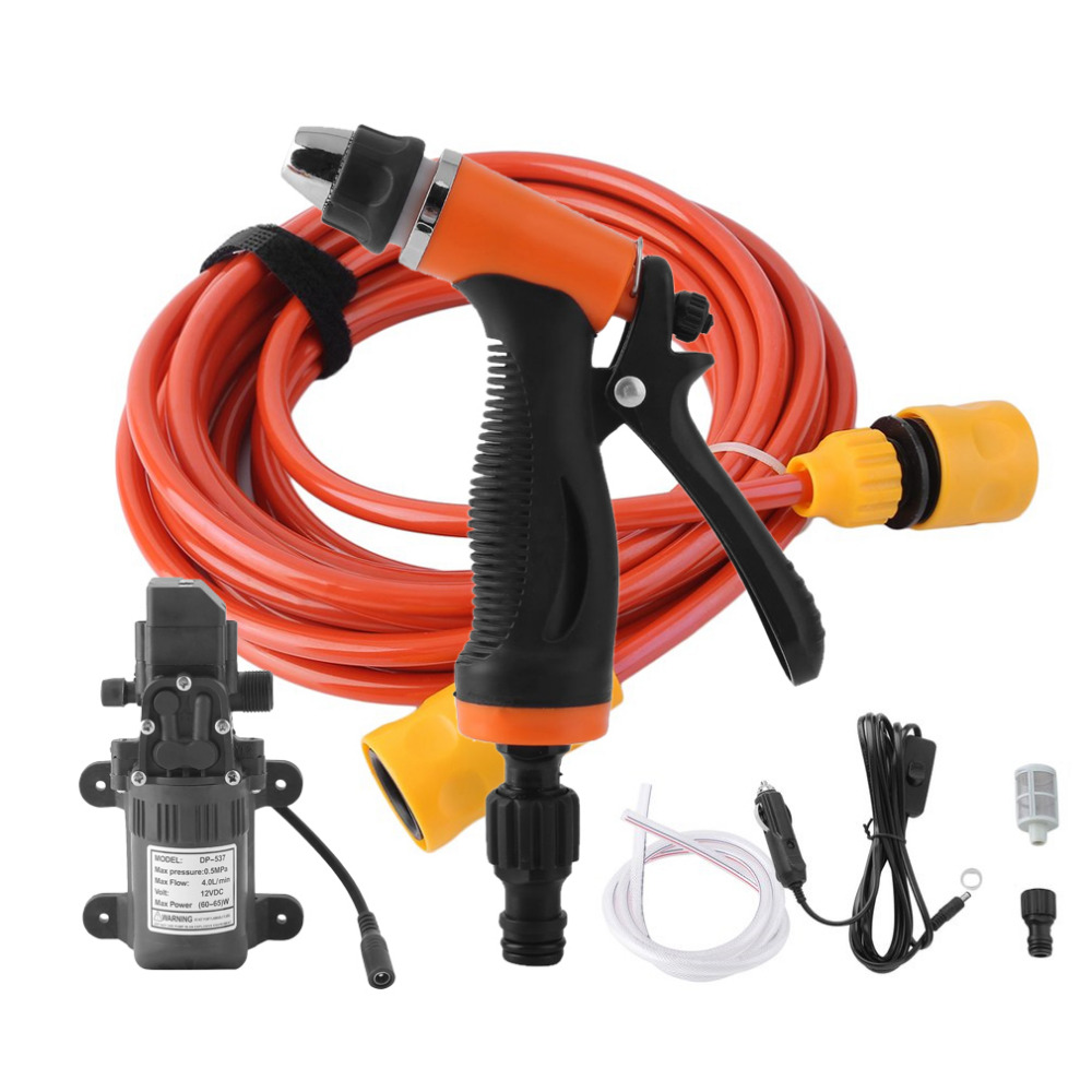 Garden Water Guns 130psi Car Washer Pump High Pressure Pump Durable Portable Washing Machine Electric Pump Sprayer For Kit Tool Drop Shipping