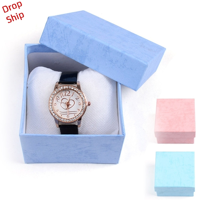 Durable Present Gift Box Case For Bracelet Bangle Jewelry Watch Box DROP SHIPPIN