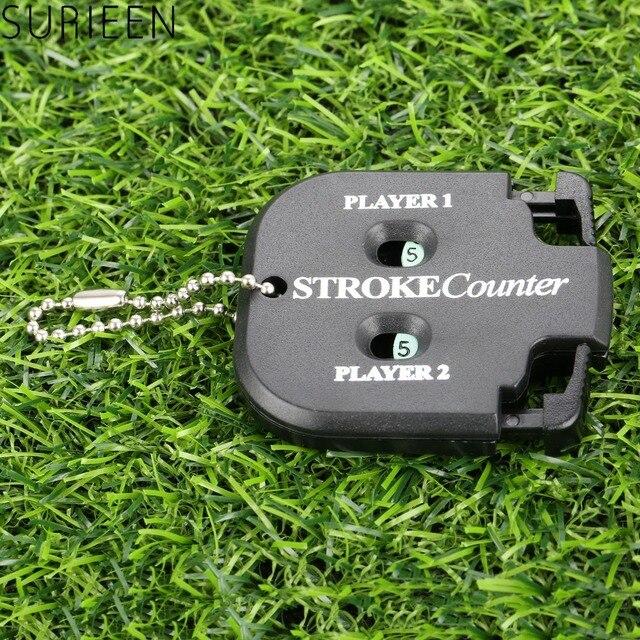 גולף Shot ספירת שבץ ציון דלפק Compteur שתי ספרות ניקוד Keeper עם מפתח שרשרת גולף עזרי הדרכה גולף אבזרים