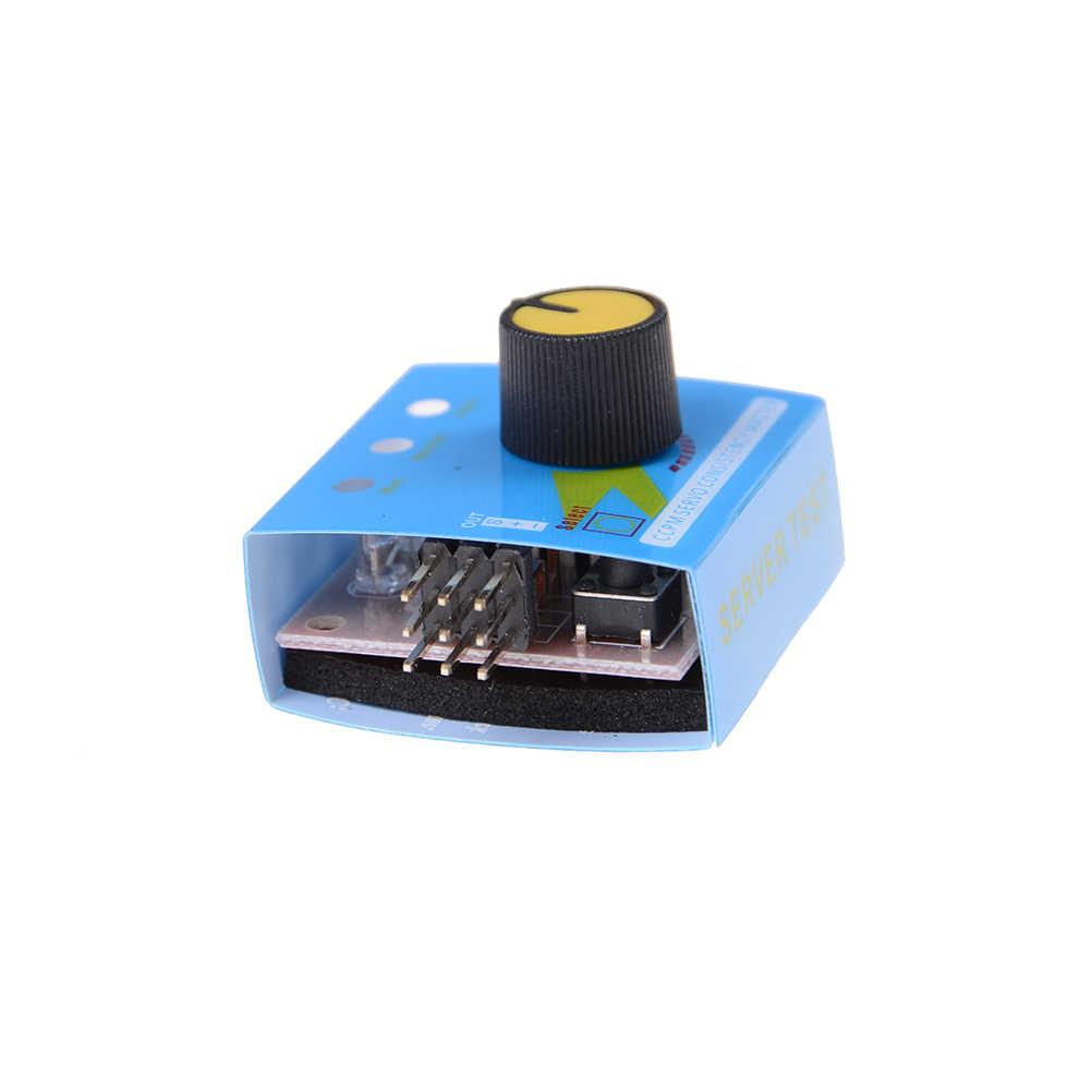 Comprobador de varios servos 3CH ECS la velocidad controlador de canal de potencia de CCPM? Medidor maestro Checker RC helicóptero RC Hobby