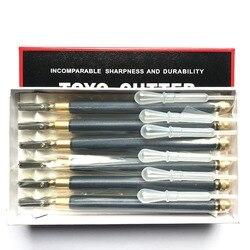 Envío Gratis 6 unids/lote POGUT TOYO tipo cortador de azulejos de vidrio TC-17 mango de Metal