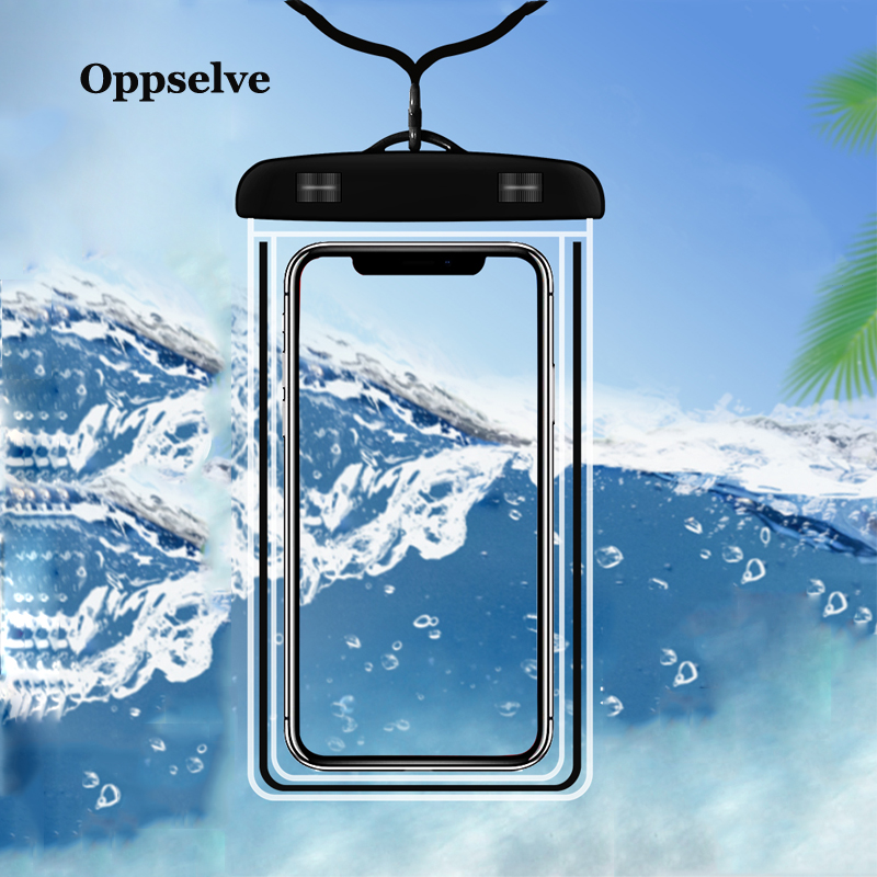 Universal Waterproof Case For iPhone X XS XR 8 Samsung Note 9 S9 Cover Pouch Underwater Phone Case For Phone Coque Funda Capinha