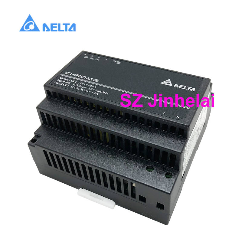 DELTA DRC 24V100W1AZ Authentic original Switching power supply 3.8A 100W DIN Rail Power Supply with Class II Double Isolation