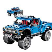 1288pcs legoed technic F 150 Raptor pickup toy car blocks Building Blocks Compatible legoing Educational toys for Children