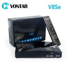 Натуральная V8Se цифровой спутниковый ресивер с AV Поддержка USB Wi-Fi Веб-ТВ Biss ключ 2xusb cccamd Newcamd как S-V8