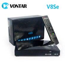 Натуральная vontar V8Se цифровой спутниковый ресивер с AV Поддержка USB Wi-Fi Веб-ТВ Biss ключ 2xusb cccamd Newcamd как S-V8