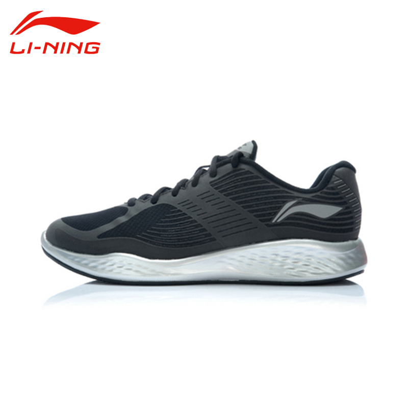 Li-Ning Men's Breathable Portable Lace-Up Running Shoes Li Ning Anti-Slip Outdoor Mesh Sport Sneakers ARHJ005 original li ning men professional basketball shoes