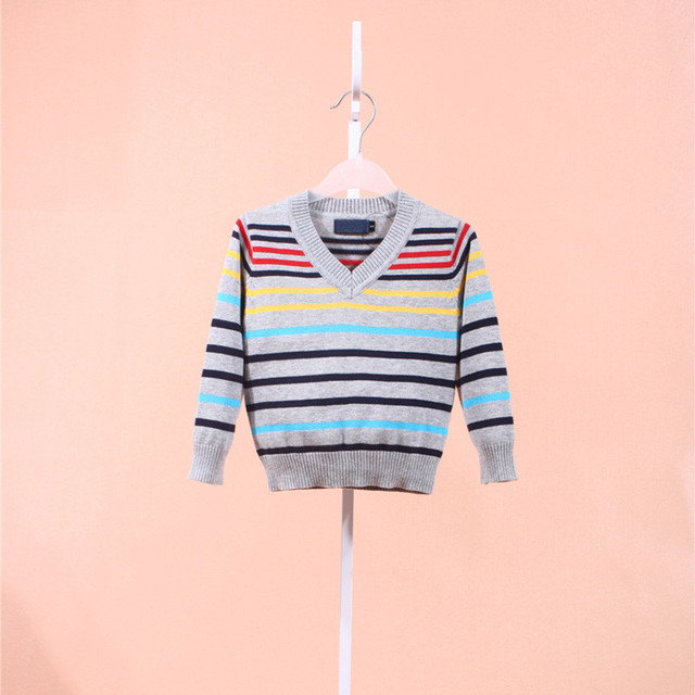 Spring/autumn/winter Fashion Brand kids Sweater baby clothes High Quality Boys And Girls Children outerwear polos Sweaters 5931
