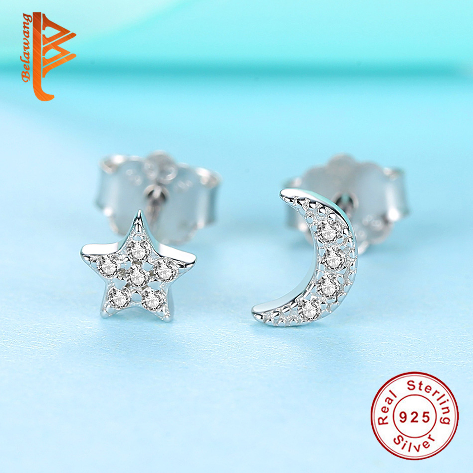 TIMEE YES I DO 925 Sterling Silver Zircon Letters Crystal Drop Long Dangle Pendant Earrings Wedding Party Birthday for Women Girls Fashion Jewelry Set
