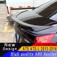 For Cadillac ATS L 2013 2014 2015 2016 D3 ABS Material Spoiler any color or Primer car rear wing car landscaping spoiler for ATS
