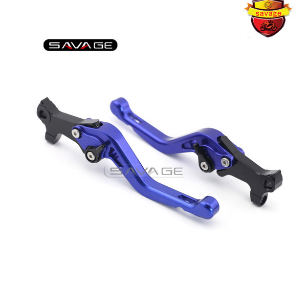 ФОТО For GILERA/PIAGGIO NEXUS 500 /CARNABY 125/200/250 Blue Motorcycle Aluminum Adjustable Short Left Right Brake Levers