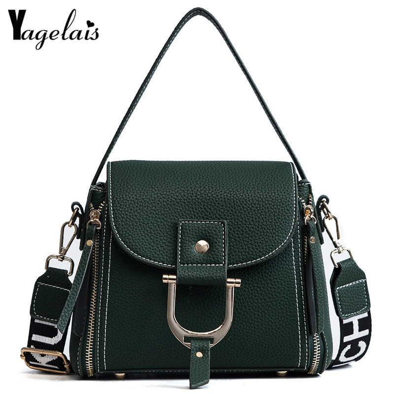 2018 New Casual Women Flap Cover Solid Leather Single Shoulder Crossbody Bags Soft Fashion Hot Womens Handbags Small Totes figestin mini top handle handbags for women fashion split leather green cover shoulder bags small totes crossbody hand bag new