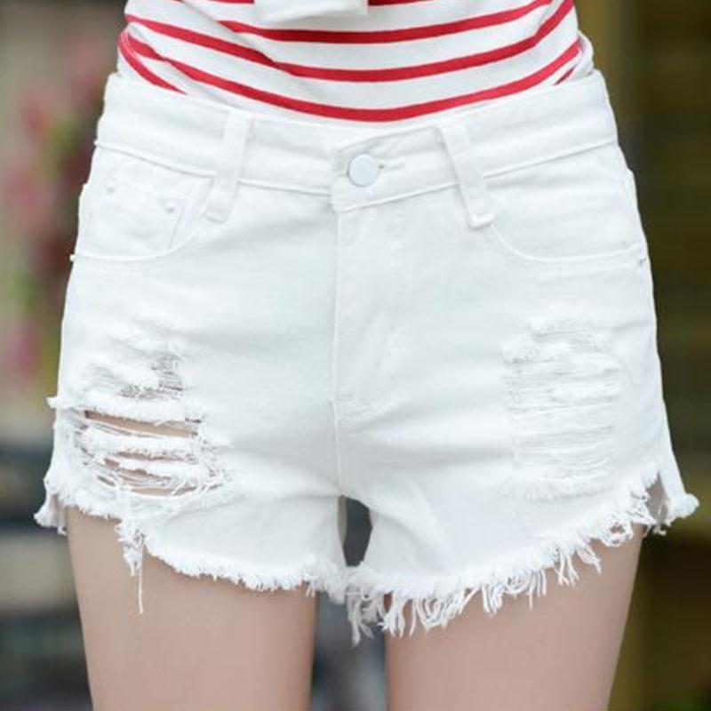 Online Get Cheap White Short Jeans -Aliexpress.com | Alibaba Group