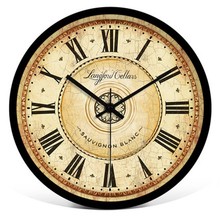 Retro Wall Clock Vintage Large Digital Watches Home Decor Kitchen Modern Design Electronic Silent Nordic