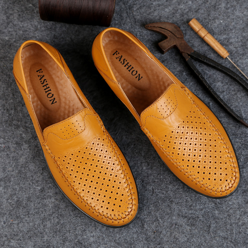 NORTHMARCH Mens Shoes Casual Luxury Shoes Men Loafers Slip On Breathable Boat Shoes Moccasins Men Chaussure Homme Cuir