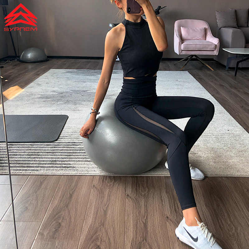SYPREM leggings mesh high waist yoga black grils leggings high elastic new sexy girls yoga crossfit pants leggings,CK181015