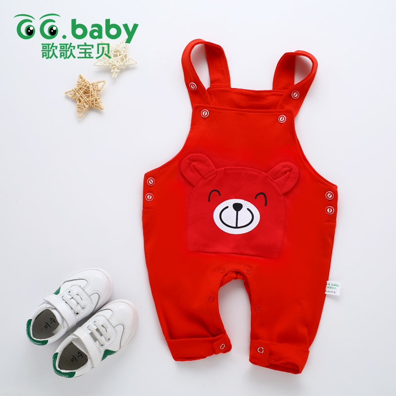 Winter Baby Boys Pants Suspender Baby Boy Trousers Autumn Baby Girl Pants Cotton Baby Pants Newborn For Boy Pants Suspender Girl