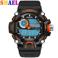 Digital LED Sport Super Cool Mens Military Watch Men Sports Watches 5ATM Swim Climbing Fashion Outdoor Casual Men Wristwatches