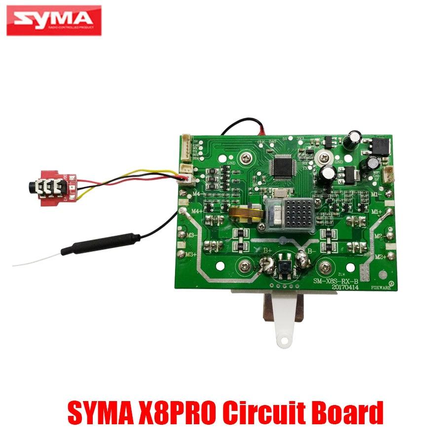 Original SYMA X8PRO GPS Drone Accessories Receiver SM-GPS V03 Modules PCB Circuit Main Board Rc Toys Spare Parts global drone gw007 rc quadcopter spare parts pcb board receiver board