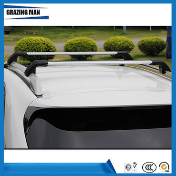 High quality 2 PCS  Aluminium alloy roof rack rail cross bar fit for X1 16+ Luggage Carrier