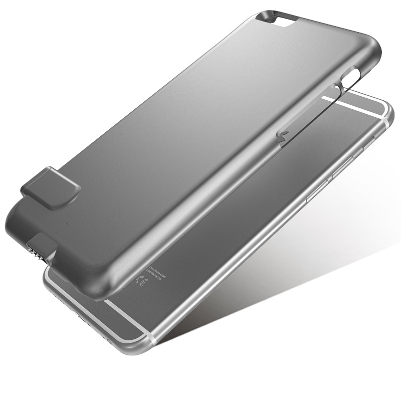 Thin iphone battery case