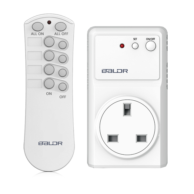 Baldr Wireless RF Remote Control Switches Socket Power Outlets Electrical Plugs Smart Home Adaptors With