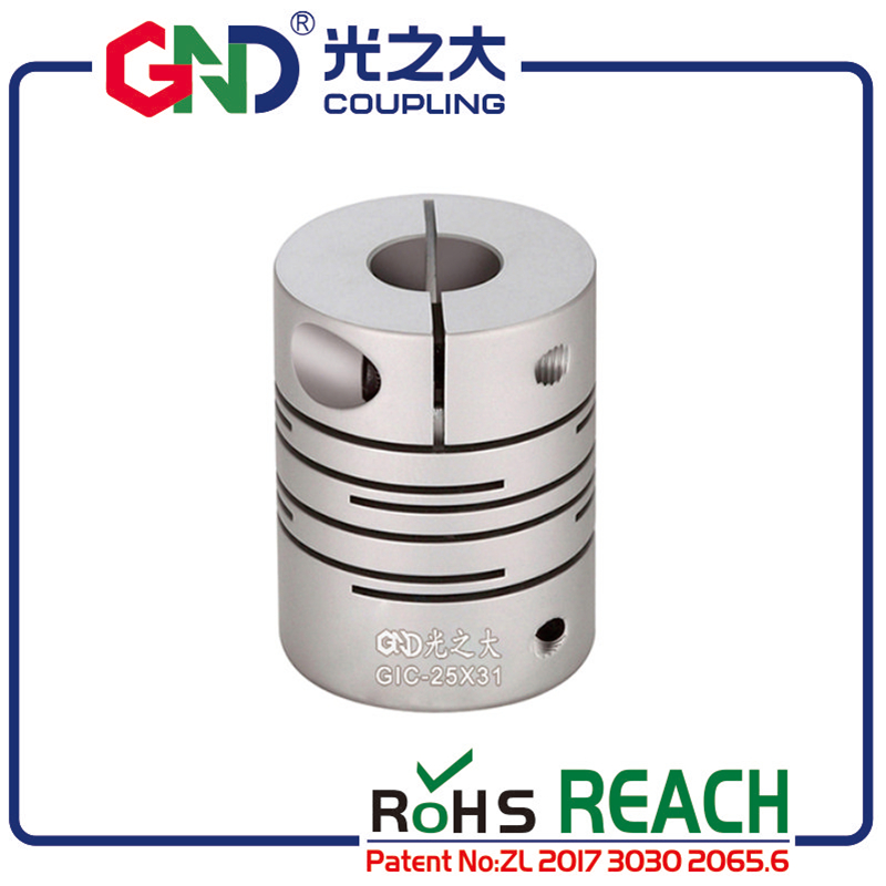 GND flexible coupling aluminum electric motor stepmotor parallel line shaft coupler of acid base servo motor quick coupling CNC in Shaft Couplings from Home Improvement