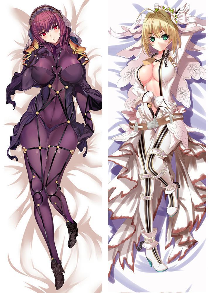Anime Re:Zero Rem /& Ram Dakimakura 2WT Bedding Pillow Case Cushion Cover 35×55cm