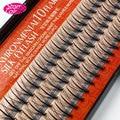 Накладные ресницы из натурального мягкого шелка, 0,07 мм