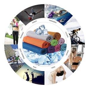 Image 5 - Toalla deportiva de enfriamiento rápido para glaseado, toalla de playa de verano, Toalla de baño de secado rápido, toallas de baño para adultos, gimnasio, Yoga y Fitness