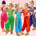 Criança Dragão Corrida de Barco Crianças Traje Chinês Dança Folclórica Traje Menina Nacional Competição Estágio Espetáculo de Dança Roupas 89