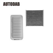 2 pcs de Alta Qualidade do filtro de ar filtro de cabine para toyota camry 2000 2.0 filtro de comércio exterior no atacado