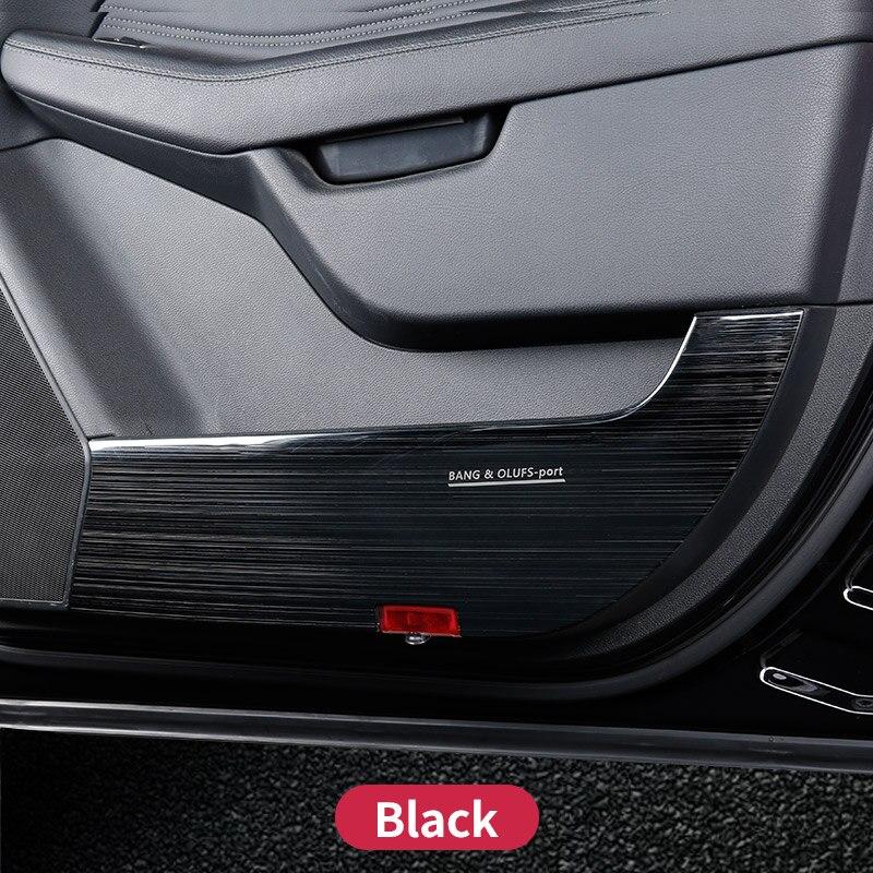 Pour Mercedes Benz GLE W166 GLE coupe C292 350d amg porte de protection marque à gratter accessoires d'autocollant de revêtement d'habillage sale